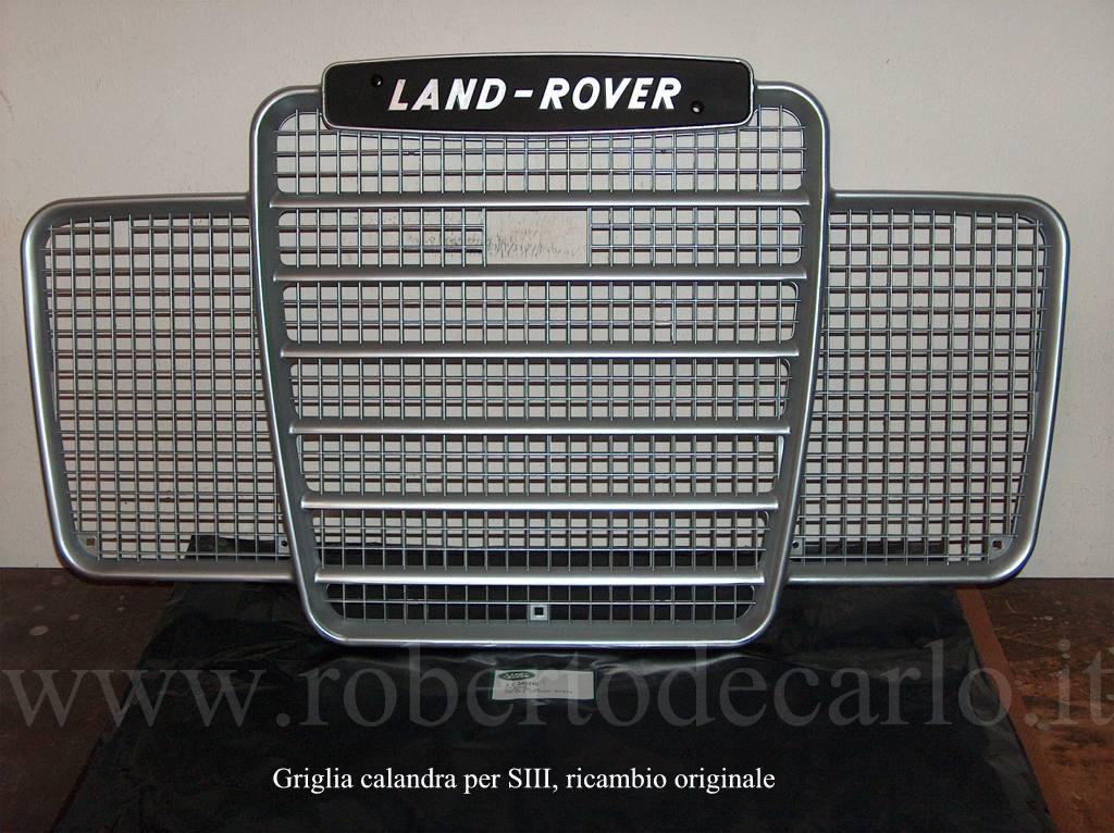 LAND Rover Serie 3 GRIGLIA RADIATORE ANTERIORE OEM parte 346346